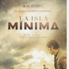 Cine: LA ISLA MÍNIMA. Lote 186448443
