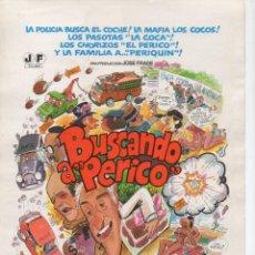 Cine: BUSCANDO A PERICO. Lote 188696487