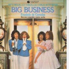 Cine: BIG BUSINESS. Lote 188777722