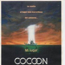 Cine: COCOON, EL RETORNO. Lote 188785330