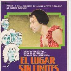 Cine: EL LUGAR SIN LIMITES. Lote 189195106