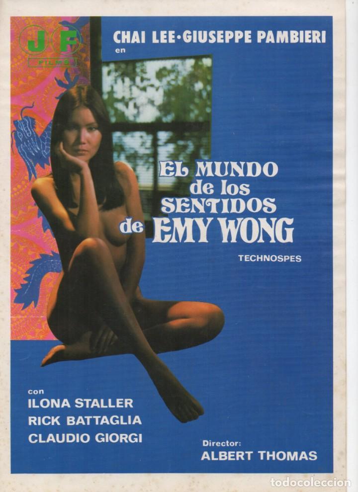 EL MUNDO DE LOS SENTIDOS DE EMY WONG (Cine - Guías Publicitarias de Películas )