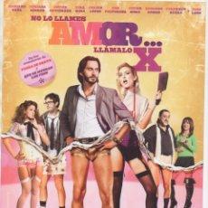 Cine: NO LO LLAMES AMOR ... LLÁMALO X. Lote 189227743