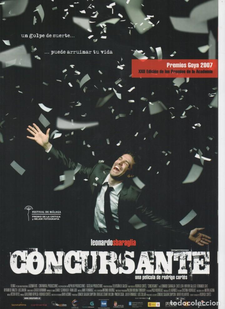 CONCURSANTE (Cine - Guías Publicitarias de Películas )