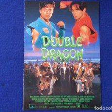 Cine: GUIA PUBLICITARIA: DOUBLE DRAGON. CON: ROBERT PATRICK, MARK DACASCOS, SCOTT WOLF.. Lote 206389291