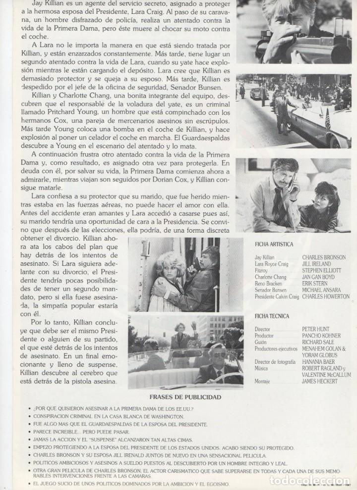 Cine: EL GUARDAESPALDAS DE LA PRIMERA DAMA - Foto 2 - 189673428