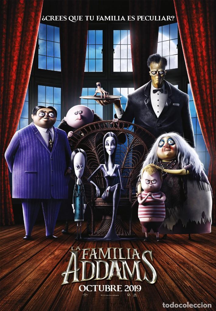 LA FAMILIA ADAMS 2019 (Cine - Guías Publicitarias de Películas )