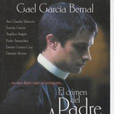 Cine: EL CRIMEN DEL PADRE AMARO. Lote 189725873