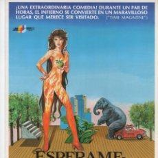 Cine: ESPÉRAME EN EL INFIERNO. Lote 189732118