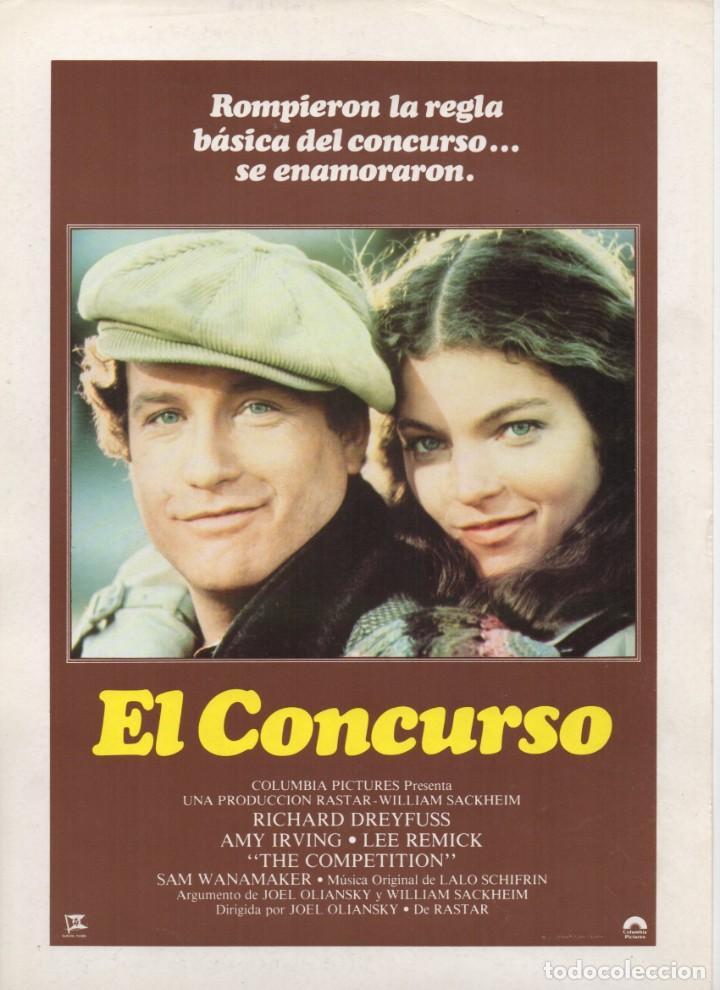 EL CONCURSO (Cine - Guías Publicitarias de Películas )