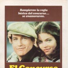 Cine: EL CONCURSO. Lote 189818073