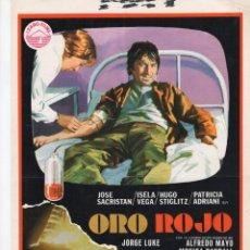Cine: ORO ROJO. Lote 189819646