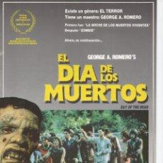 Cine: EL DÍA DE LOS MUERTOS. Lote 189826983