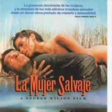 Cine: LA MUJER SALVAJE. Lote 189916666