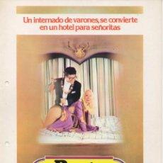 Cine: RECTOR EN LA CAMA. Lote 189984971