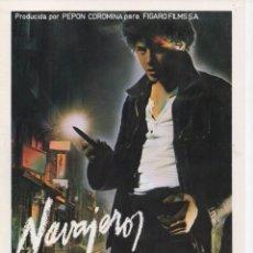 Cine: NAVAJEROS. Lote 189986346