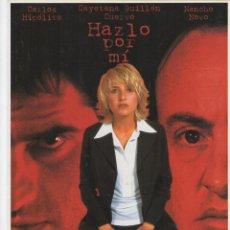 Cine: HAZLO POR MI. Lote 190049406