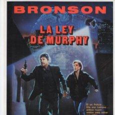 Cine: LA LEY DE MURPHY. Lote 190050650