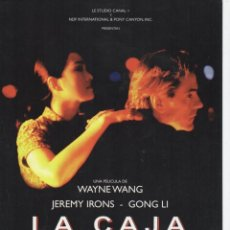 Cine: LA CAJA CHINA. Lote 190052336