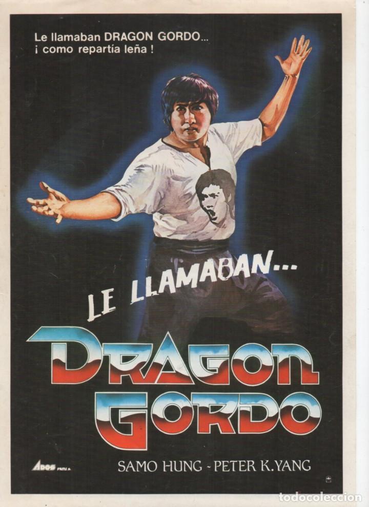 LE LLAMABAN... DRAGÓN GORDO (Cine - Guías Publicitarias de Películas )