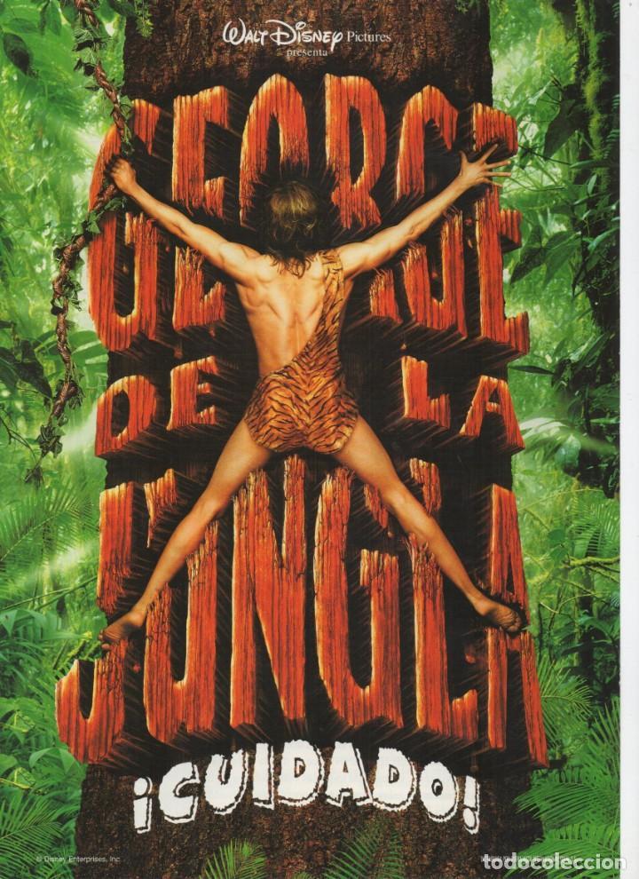 GEORGE DE LA JUNGLA (Cine - Guías Publicitarias de Películas )