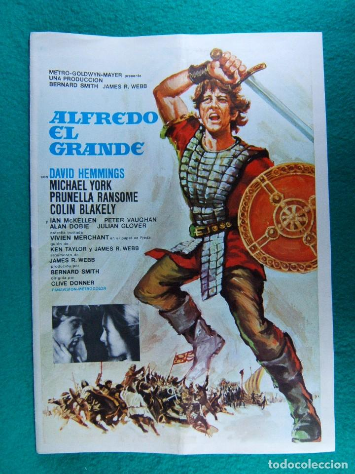 Alfredo El Grande Clive Donner David Hemmings M Buy Pressbooks At Todocoleccion 190192607