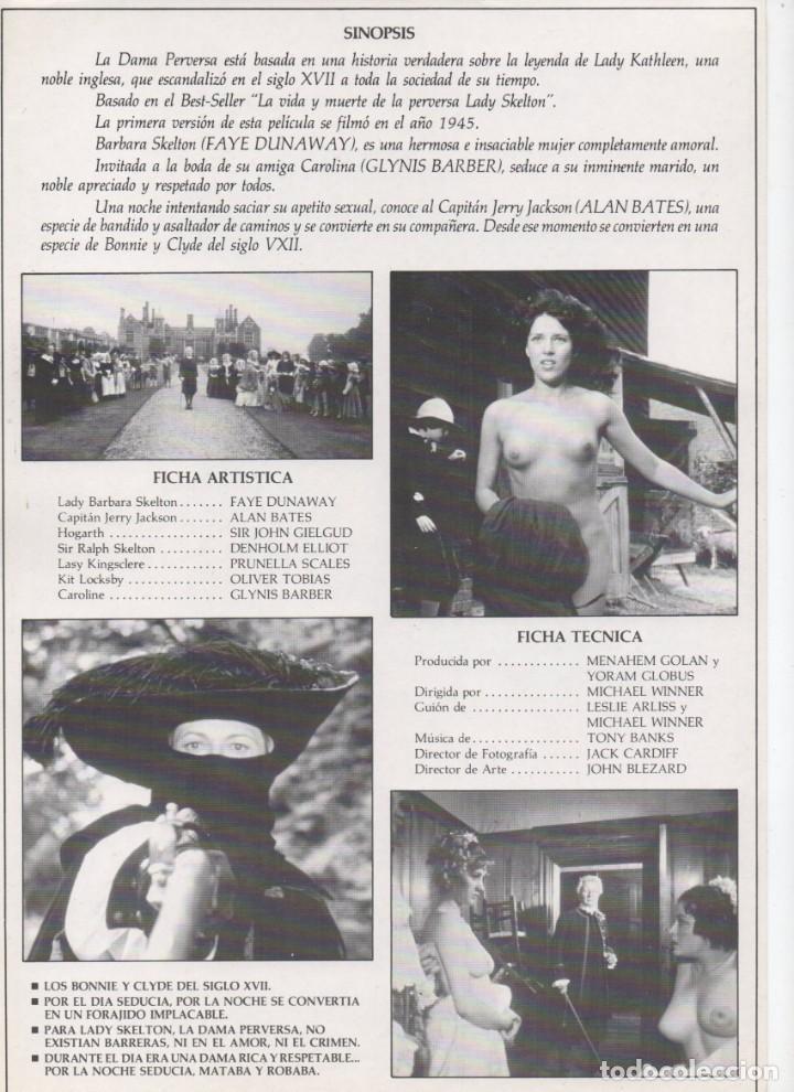 Cine: LA DAMA PERVERSA - Foto 2 - 190409401
