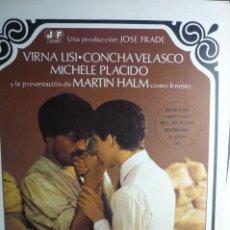 Cine: GUIA DOBLE ERNESTO.-CONCHA VELASCO. Lote 190885121