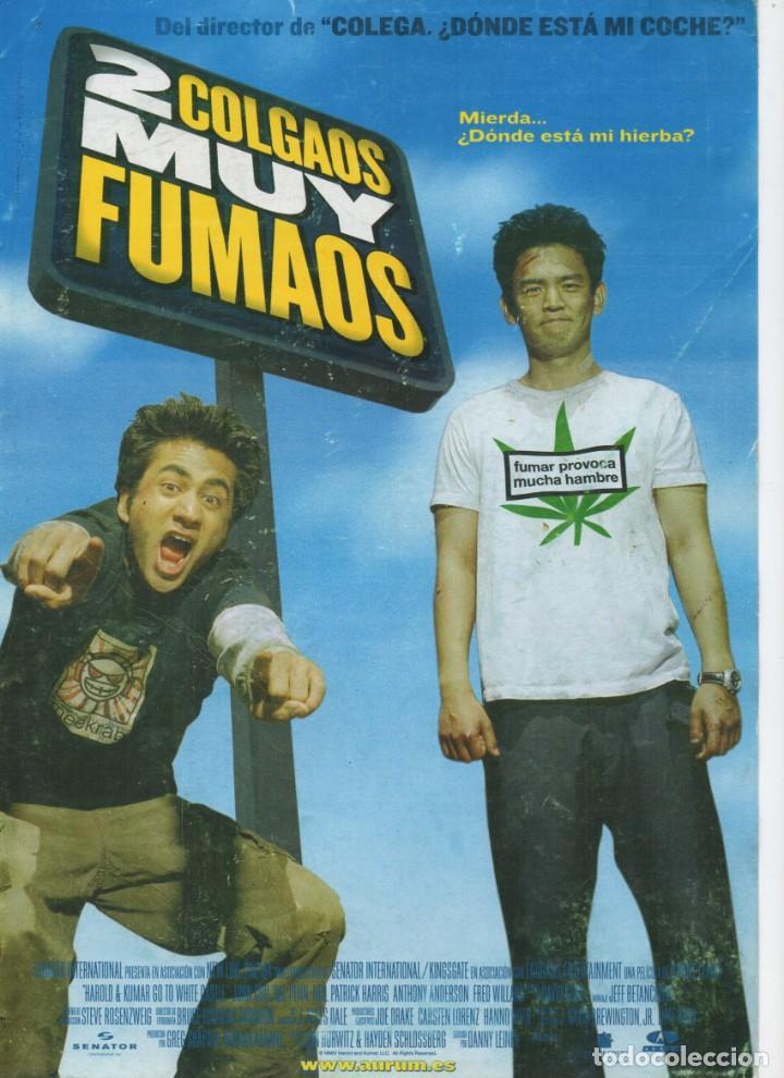 2 COLGAOS MUY FUMAOS (Cine - Guías Publicitarias de Películas )