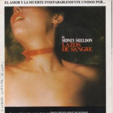 Cine: LAZOS DE SANGRE. Lote 191339892