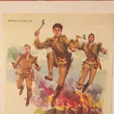 Cine: FURIA SALVAJE,GUIA DOBLE( BENGALA FILMS-KEITH LARSEN. Lote 191653797