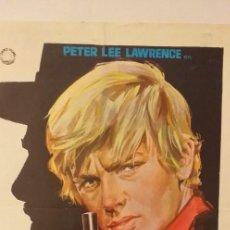 Cine: EL HOMBRE QUE MATO A BILLY EL NIÑO,GUIA DOBLE(IZARO FILMS,PETER LEE LAWRENCE. Lote 191678166