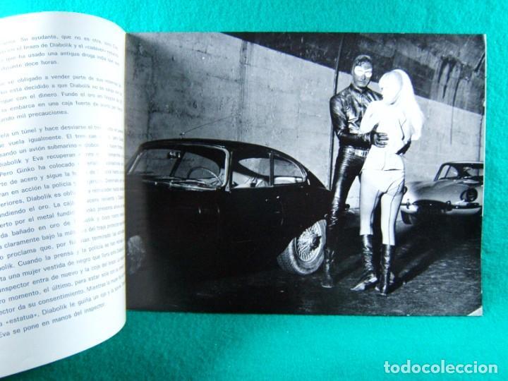 Cine: DIABOLIK-MARIO BAVA-JOHN PHILIP LAW-MARISA MELL-MICHEL PICCOLI-ADOLFO CELI-TERRY THOMAS-12 PAG-1968. - Foto 2 - 192377562