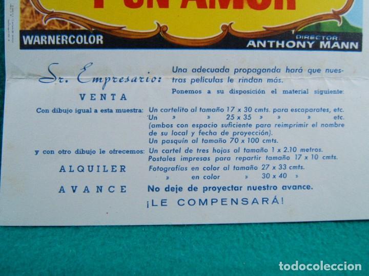 Cine: DOS PASIONES Y UN AMOR-SERENADE-ANTHONY MANN-MARIO LANZA-JOAN FONTAINE-SARA MONTIEL-2 PAGINAS-1959. - Foto 2 - 192519352