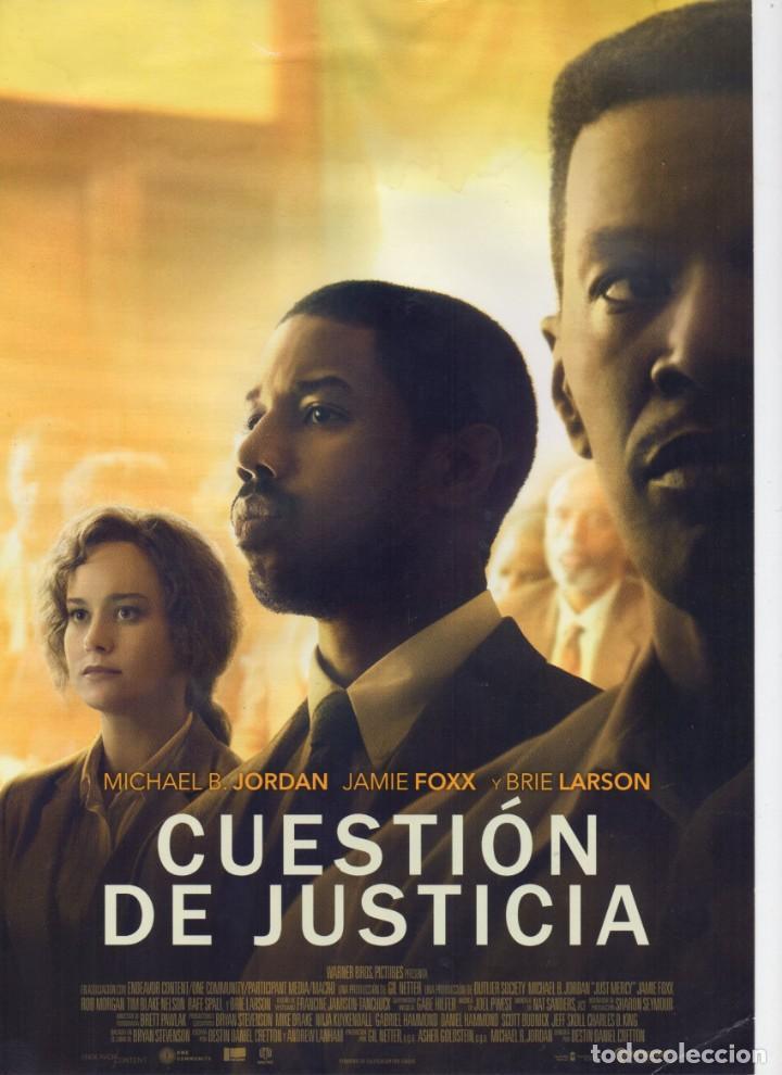 CUESTIÓN DE JUSTICIA (Cine - Guías Publicitarias de Películas )
