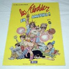 Cine: GUIA PUBLICITARIA PELICULA LOS FLODDER EN AMERIKA. Lote 192633591