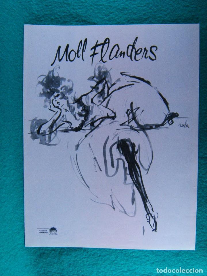 MOLL FLANDERS-TERENCE YOUNG-KIM NOVAK-RICHARD JOHNSON-ANGELA LANSBURY-6 PAGINAS-1965. (Cine - Guías Publicitarias de Películas )