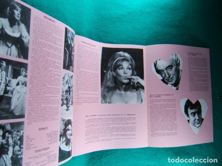 Cine: MOLL FLANDERS-TERENCE YOUNG-KIM NOVAK-RICHARD JOHNSON-ANGELA LANSBURY-6 PAGINAS-1965. - Foto 2 - 194131341