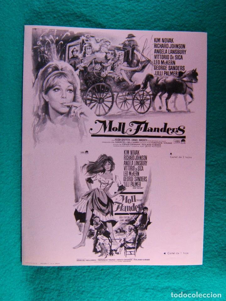 Cine: MOLL FLANDERS-TERENCE YOUNG-KIM NOVAK-RICHARD JOHNSON-ANGELA LANSBURY-6 PAGINAS-1965. - Foto 4 - 194131341