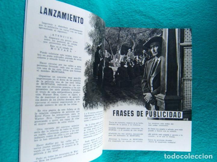 Cine: MONTANA-RAY ENRIGHT-ERROL FLYNN-ALEXIS SMITH-DOUGLAS KENNEDY-JAMES BROWN-¡¡¡ 20 PAGINAS !!!-1949. - Foto 2 - 194137407