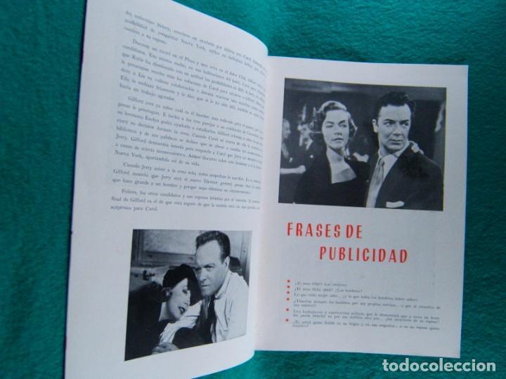 Cine: EL MUNDO ES DE LAS MUJERES-WOMANS WORLD-JEAN NEGULESCO-CLIFTON WEBB-JUNE ALLYSON-16 PAGINAS-1954. - Foto 3 - 194178993