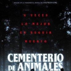 Cine: CEMENTERIO DE ANIMALES. Lote 194220830