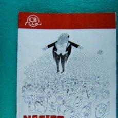 Cine: NACIDO GAFE-IL SECONDO TRAGICO FANTOZZI-LUCIANO SALCE-PAOLO VILLAGGIO-ILUSTRA MUNTAÑOLA-8 PAGIN-1977. Lote 194221553