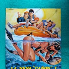 Cine: LA NENA CAÑON Y D MAXIMO EL LIGON-MARINO GIROLAMI-RENZO MONTAGNANI-MARISA MELL-8 PAGINAS-1980. . Lote 194226425