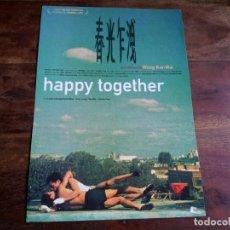 Cine: HAPPY TOGETHER - LESLIE CHEUNG, TONY LEUNG CHIU WAI, WONG KAR-WAI - GUIA ORIGINAL WANDA AÑO 1997. Lote 194235601