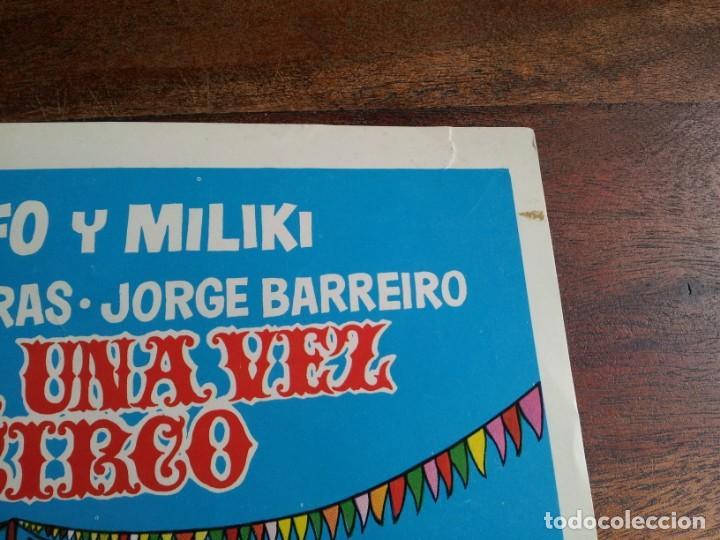 Cine: habia una vez un circo - gabi, fofo, miliki, fofito - guia original juvensa año 1972 - Foto 3 - 194237643