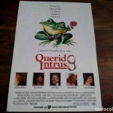 Cine: QUERIDO INTRUSO - RICHARD DREYFUSS, HOLLY HUNTER, DANNY AIELLO - GUIA ORIGINAL U.I.P AÑO 1991. Lote 194237921