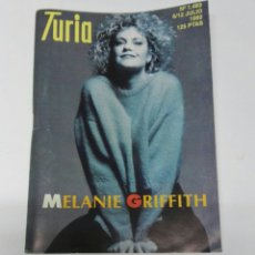 Cine: CARTELERA TURIA N° 1483 1992 MELANIE GRIFFITH. Lote 194273206