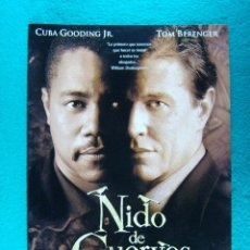 Cine: NIDO DE CUERVOS-A MURDER OF CROWS-ROWDY HERRINGTON-CUBA GOODING JR-TOM BERENGER-4 PAGINAS-1998. . Lote 194290750