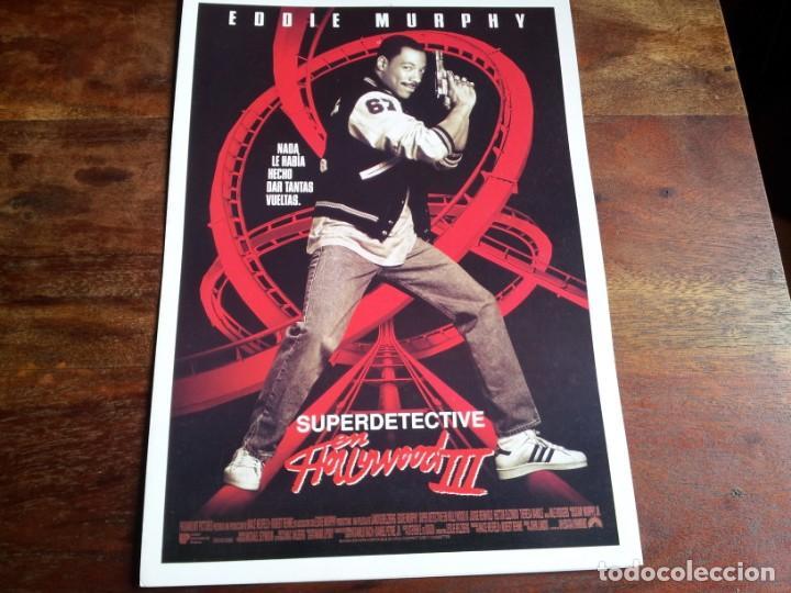 SUPERDETECTIVE EN HOLLYWOOD III - EDDIE MURPHY, JUDGE REINHOLD - GUIA ORIGINAL U.I.P AÑO 1994 (Cine - Guías Publicitarias de Películas )
